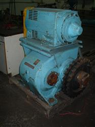 Image 25 HP Motor w/NUTALL Gear Reducer: Output 16 RPM 326431