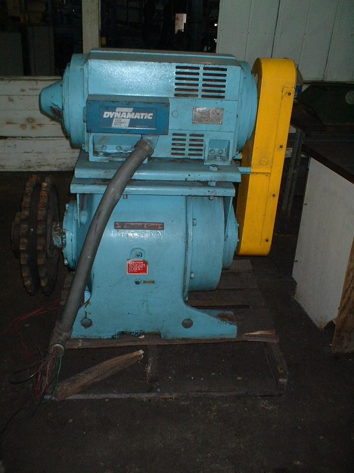 Image 25 HP Motor w/NUTALL Gear Reducer: Output 16 RPM 326432