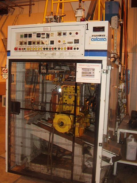 AUTOMA Speed 3000 Blow Molder, 1985