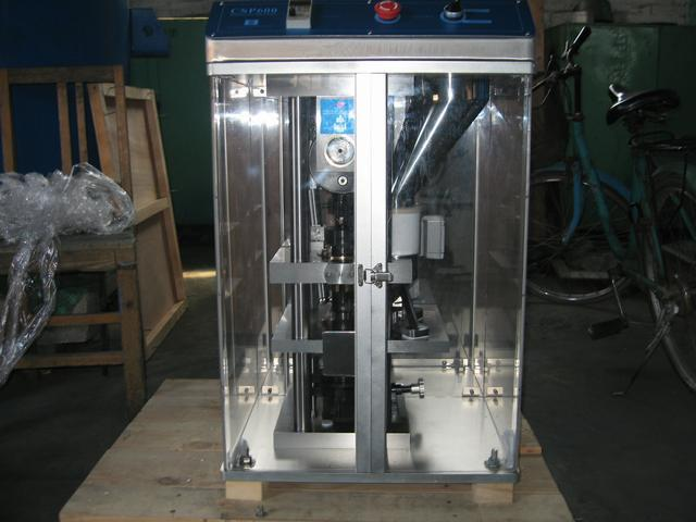 1 Station Model CSP600 Single Punch Tablet Press
