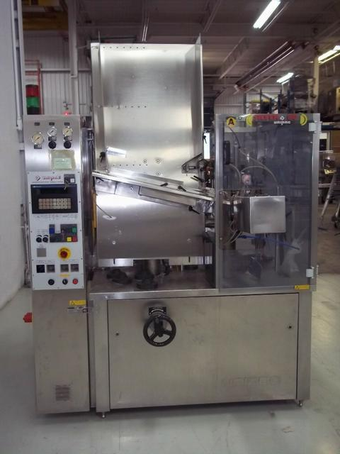 UNIPAC Model Silver 80 Plastic Tube Filler