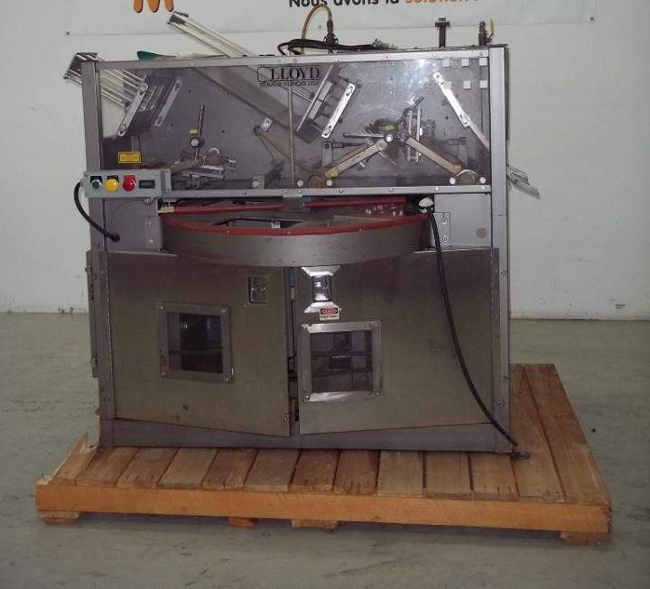 Image ALLOYD 4-Station Model 4SC 6/9 Blister Machine 326758