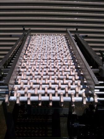 "22"" x 50"" L Stainless Food Grade Conveyor"