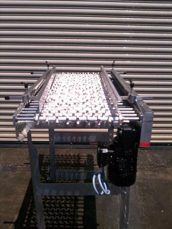 "Image 22"" x 50"" L Stainless Food Grade Conveyor 327120"