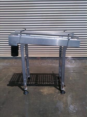 "Image 22"" x 50"" L Stainless Food Grade Conveyor 327121"