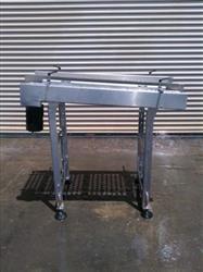 "Image 22"" x 50"" L Stainless Food Grade Conveyor 327121"