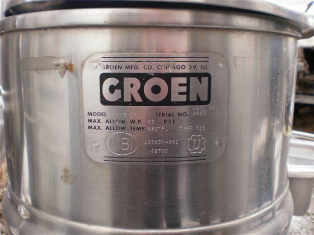 Image 5 Gal  GROEN S/S Jacketed Kettle 327161