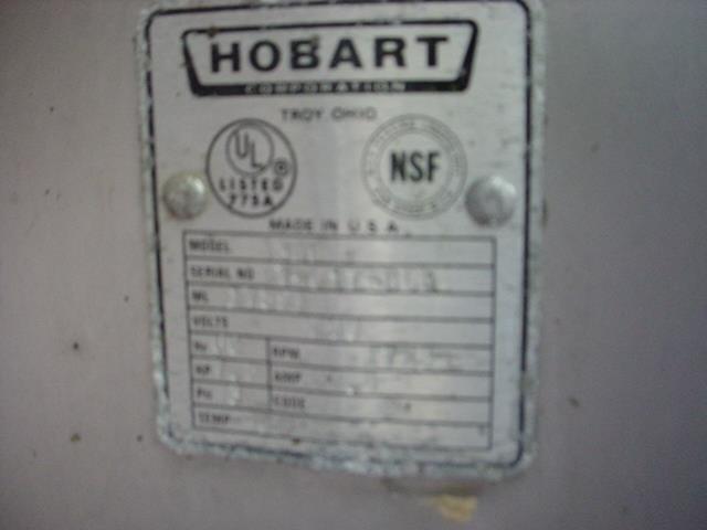 Image 7.5 HP HOBART S/S Food Mixer / Grinder 595245