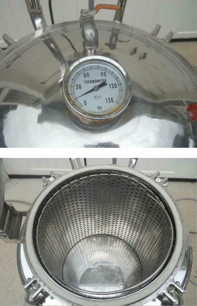 Image 10 Gal. Pressure Cooker / Canner / Soup Cooker 327409