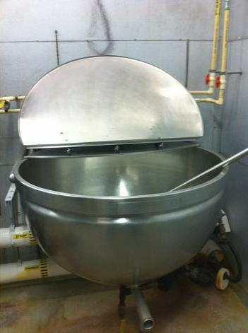 80 Gallon Wall Mounted Kettle