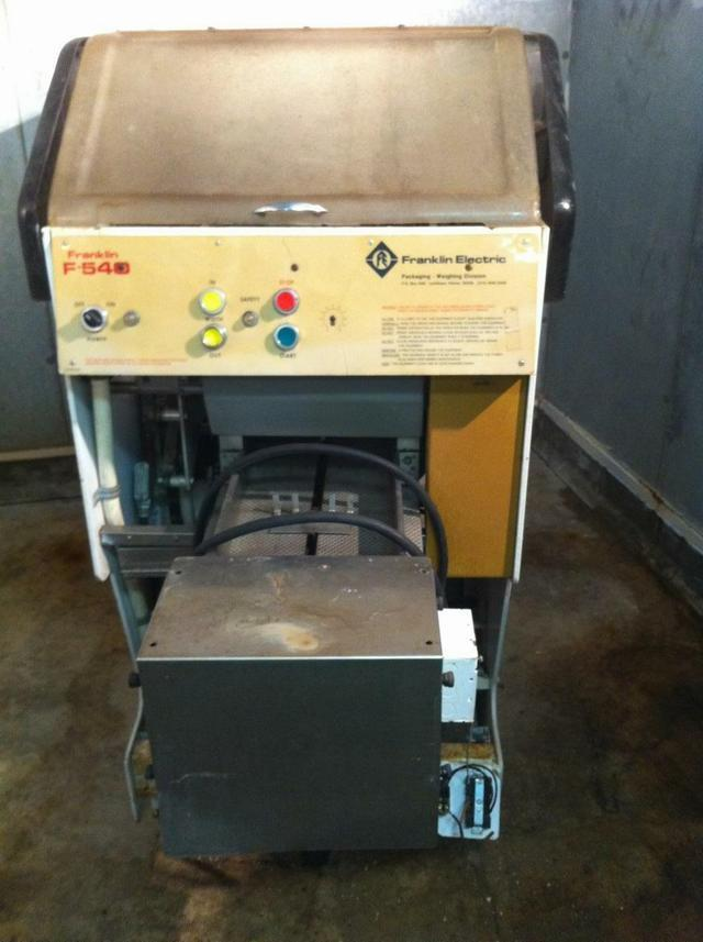 FRANKLIN Model 540 Automatic Stretch Wrapper
