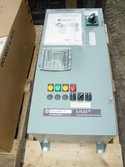 SQUARE D E-Flex Altivar 5HP Speed Control Unused