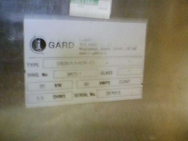 Image 20 KW I-GARD Resistor Bank 327870
