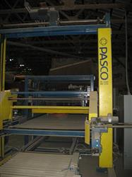 111470 - PASCO Palletizer with LANTECH Stretch Wrapper