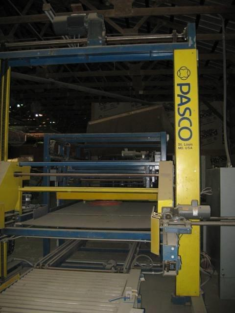 Image PASCO Palletizer with LANTECH Stretch Wrapper 688597