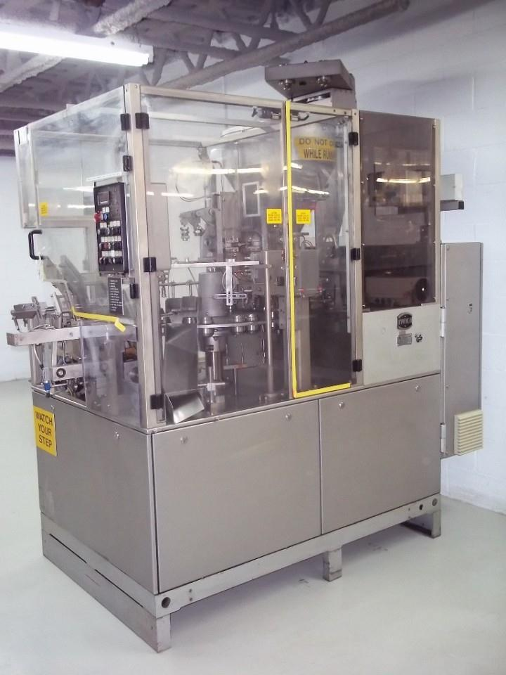 IWKA Model TU200 Dual Head Metal Tube Filler