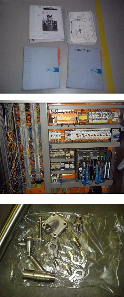 Image IWKA Model TU200 Dual Head Metal Tube Filler 328029