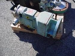 "111830 - 1.5"" WAUKESHA CHERRY-BURRELL 30 S/S Displacement Pump with Motor"