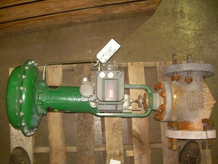 "4"" FISHER Globe Valve with Actuator"