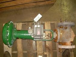 """Image 4"""" FISHER Globe Valve with Actuator 328218"""