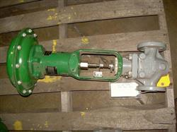 "111925 - 1"" FISHER Globe Valve with Actuator"