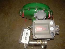 """Image 1"""" FISHER 70 AT Globe Valve with Actuator 328230"""