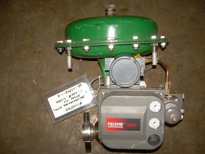 "Image 1"" FISHER 70 AT Globe Valve with Actuator 328231"