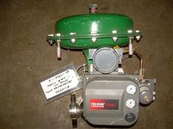 """Image 1"""" FISHER 70 AT Globe Valve with Actuator 328231"""
