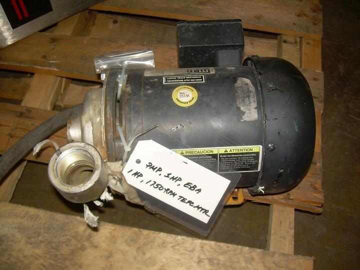 Image EBARA Pump, 80 GPM @ 28 FT TDH 328256