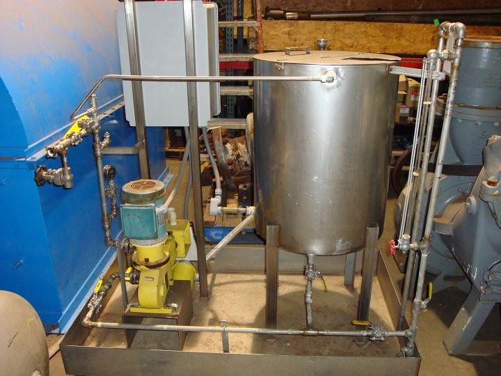 MILTON ROY Chem Feed System, 7.5 GPH @ 1000 PSIG