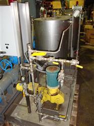 Image MILTON ROY Chem Feed System, 7.5 GPH @ 1000 PSIG 328269