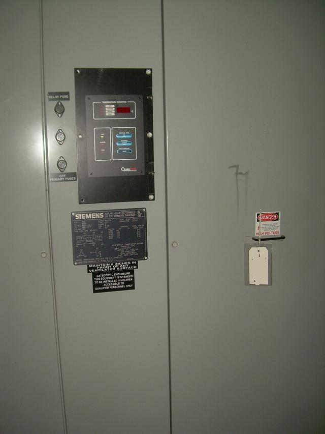 Image 750 kva SIEMENS Transformer 328301