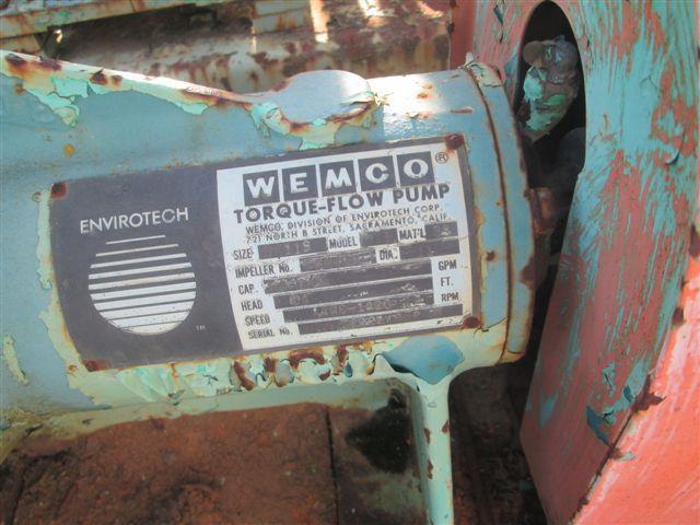 Image WEMCO 2 x 11 Pump, 316 S/S 618884