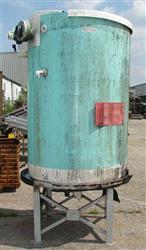 Image 550 GAL Vertical Fiberglass Tank, Flat Bottom 328469