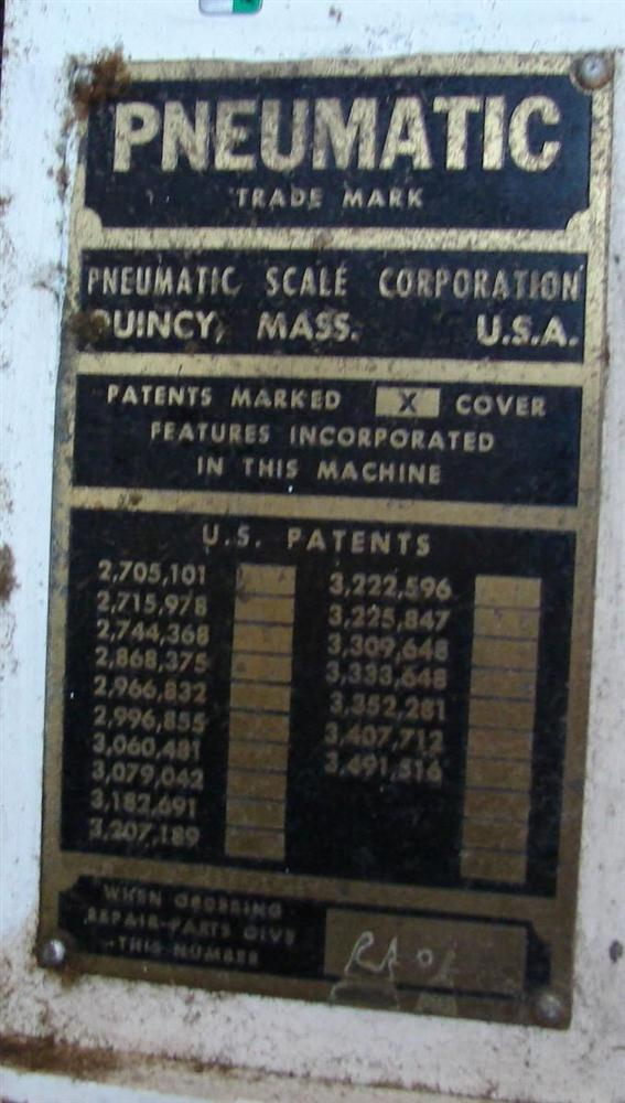 """Image PNEUMATIC SCALE Bi-Directional Table 48"""" x 62"""" 328485"""