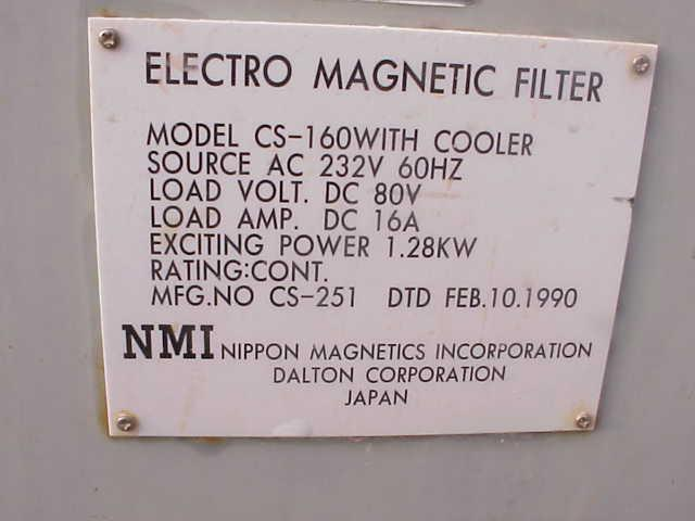Image NIPPON Electro Magnetic Filter/Separator Nippon 328497