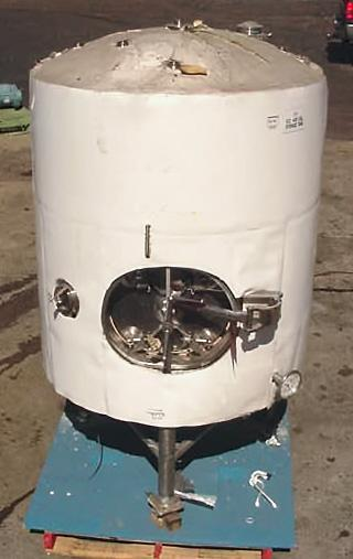 400 Gal Pressure Rated Pharm Grade Storage Tank