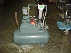 Image 1 HP HYVAC Tank Mounted Vacuum Pump 328710