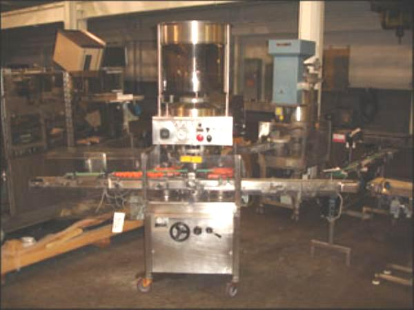 WEST Model SF600SS Rotary Capper