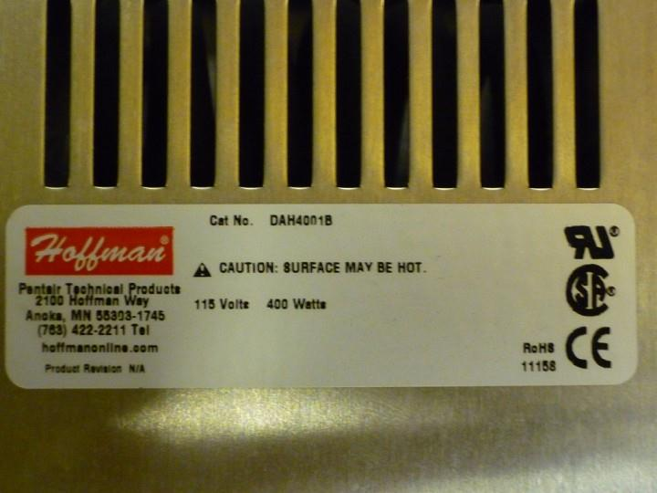 Image HOFFMAN Electric Fan Driven Heater 328783