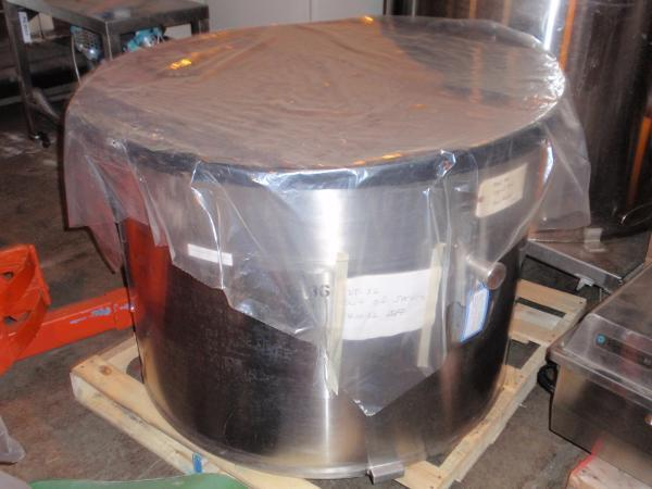 125 Gal 316SS Change Can for DAY Pony Mixer