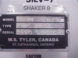 Image TYLER Model RX-24 Laboratory Sieve/Screener 329079