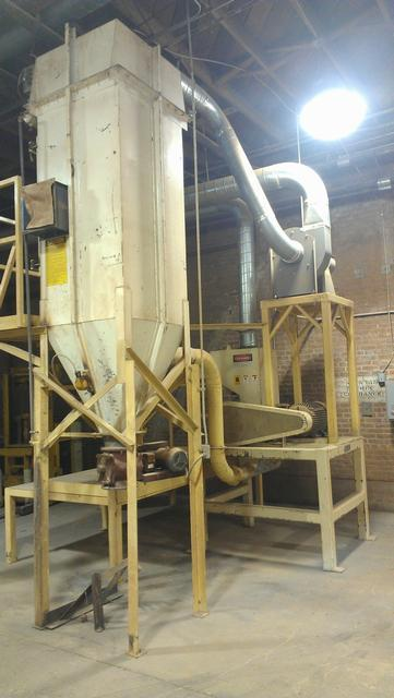 Image JACOBSON Mill w/Platform, Blower, & Bag House 329123