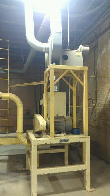 Image JACOBSON Mill w/Platform, Blower, & Bag House 329125