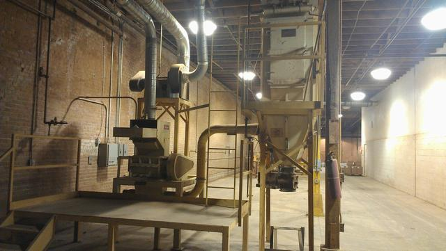 Image JACOBSON Mill w/Platform, Blower, & Bag House 329126