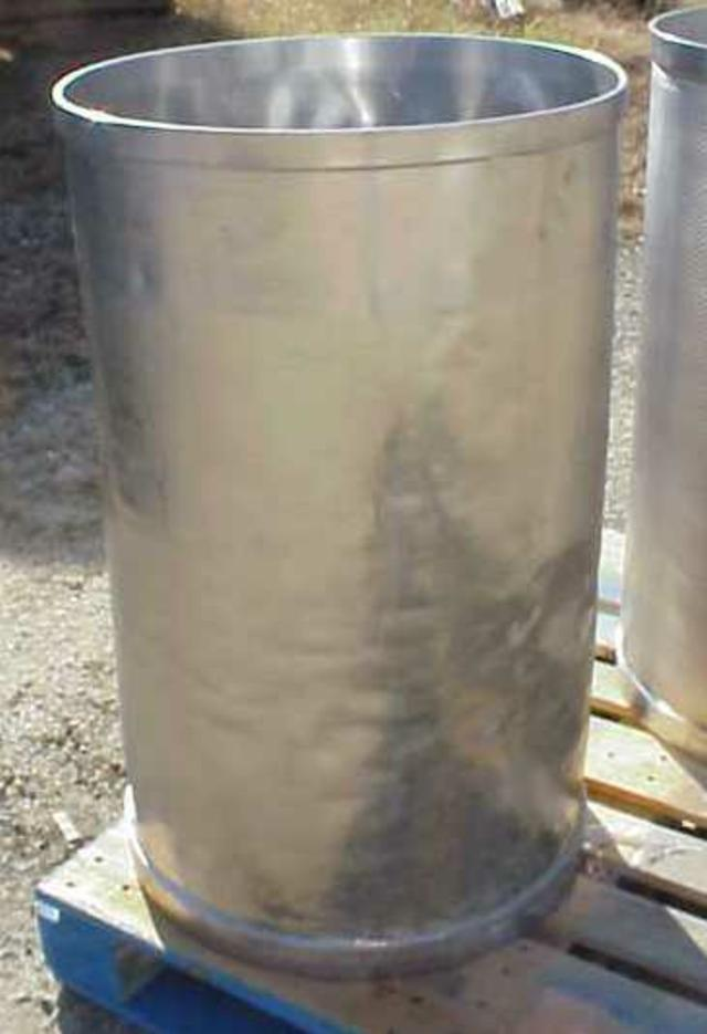 Image 55 Gallon Stainless Steel Drums, Sanitary 329165