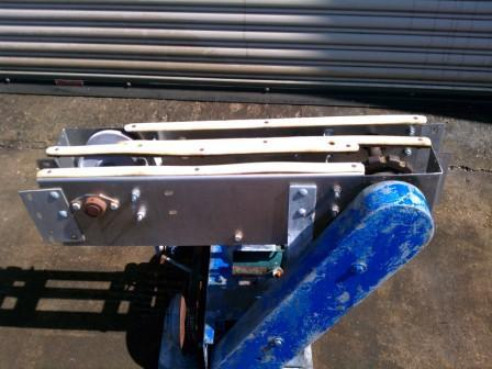 "3.5"" to 3.5"" Conveyor Transfer, S/S Table Top"