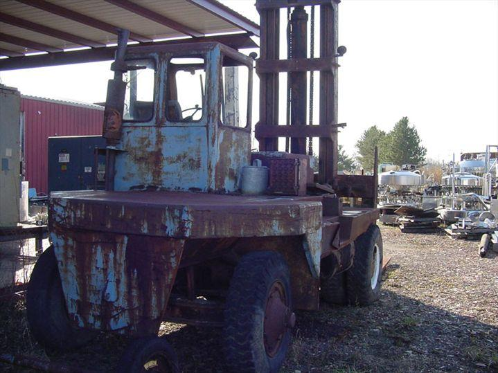 Image TAYLOR Lift Truck - Diesel - 10-Ton Capacity 329353