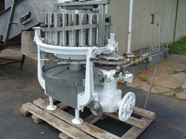 PFAUDLER 21-Head Rotary Piston Filler, RP-21