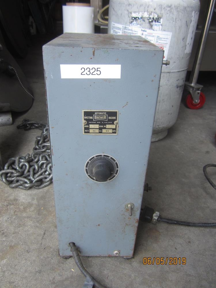 Image BREWER Automatic Pippeting Machine 1395855